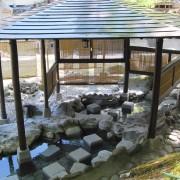 四万温泉・川音の足湯